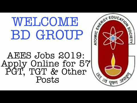 AEES Jobs 2019: Apply Online for 57 PGT, TGT & Other Posts