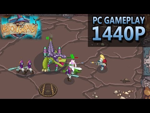 The Weaponographist | PC Gameplay | 1440P / 2K |
