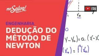 Me Salva! DER22 - Dedução do método de Newton para o cálculo de raízes