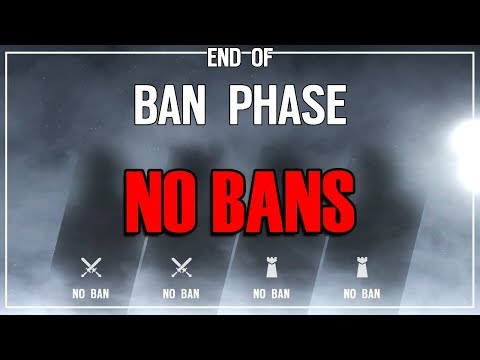 No Operator Bans - Rainbow Six Siege |