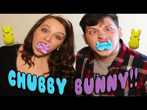 Chubby Bunny with Girlfriend!