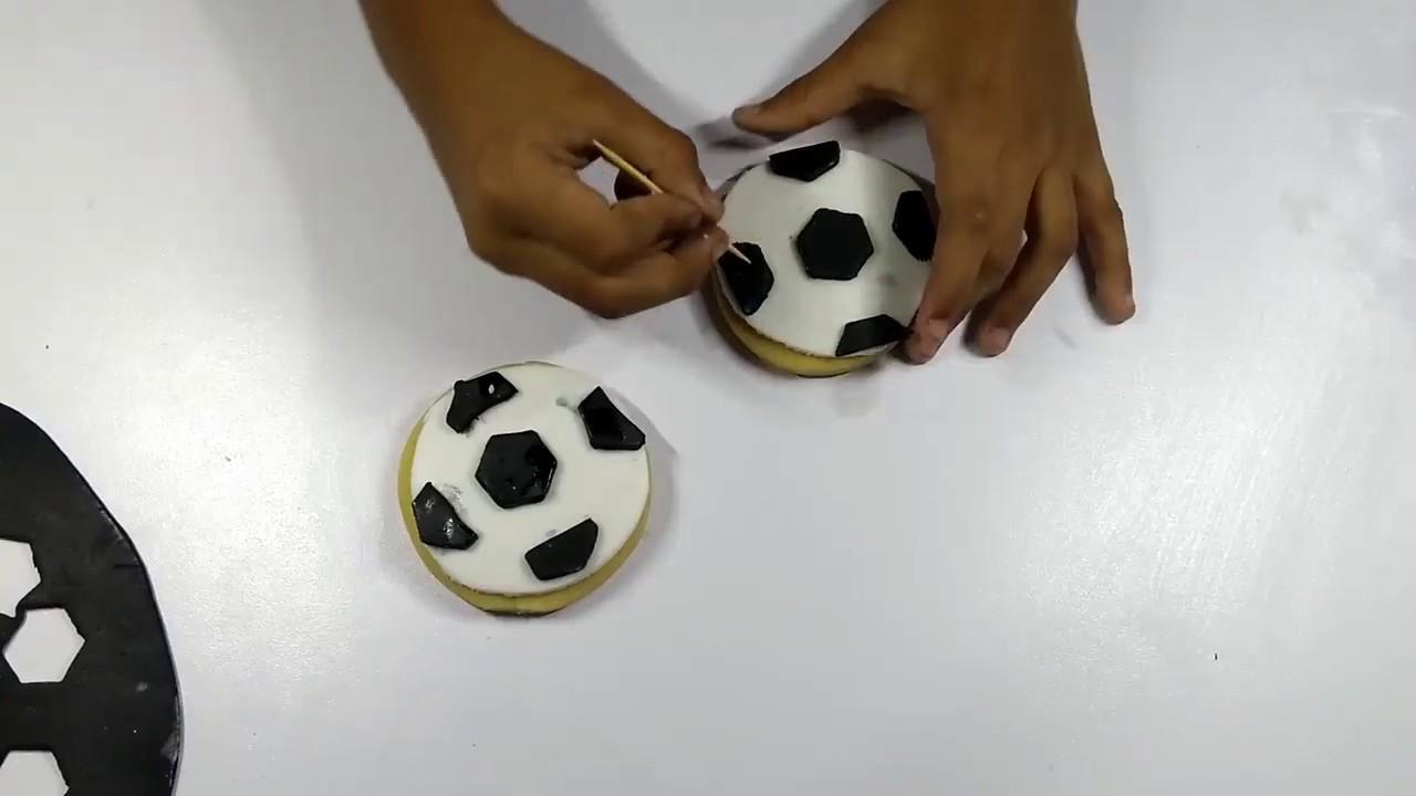 Galletas De Fútbol Tutoriales De Pastelería