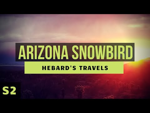 RV Nomad Life | Our Favorite Snowbird Destination in Arizona