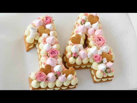 Как испечь торт цифру