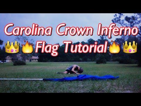 2015 Carolina Crown Opener Flag Tutorial