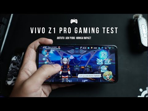 HP GAMING MURAH TERBAIK | Vivo Z1 Pro Gaming Test Indonesia