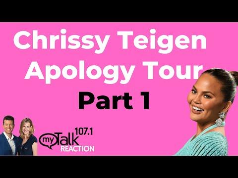 Chrissy Teigen Apology Tour - Part 1