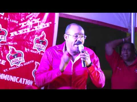 Gaston Browne says March on Monday!