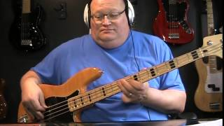 The Thompson Twins Hold Me Now Bass Cover with Notes & Tablature