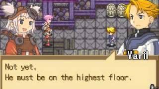 (Gameboy Advance) Summon Night Swordcraft Story part 17 - Fort Mirana