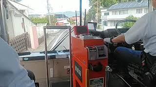レトロリレーバス令和 津山市内~津山まなびの鉄道館