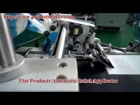 Flat Products Automatic Label Applicator