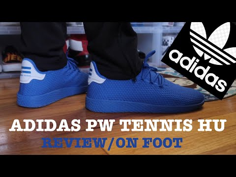 "ADIDAS PW TENNIS HU ""BLUE"" REVIEW/ON FEET"