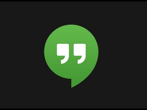 Videoconferencia paso a paso - Google Hangouts