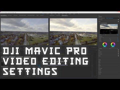 🎥 DJI Mavic Pro Drone Video Editing, Color Grading, Exporting! 🎥 December 7-8, 2016 VLOGmas