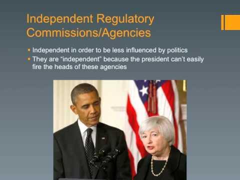 4.14 Types of Bureaucratic Agencies AP Gov