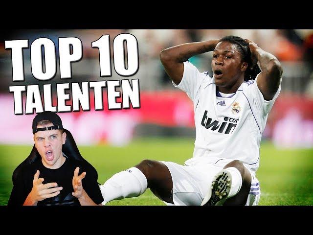 TOP 10 VOETBAL TALENTEN DIE NIKS GEWORDEN ZIJN!!