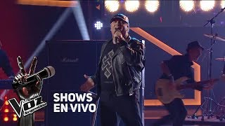"Shows en vivo #TeamMontaner: Pablo canta ""The final countdow..."