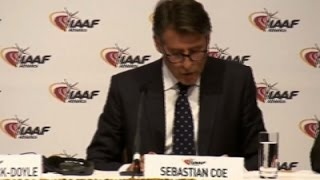 IAAF Upholds Russia's Ban from Track and Field