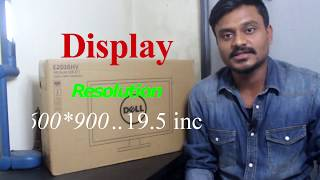 Dell 19.5 Inch LED Monitor Model: E2016HV Unboxing and Set-up & Overview