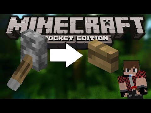 How to make a button like lever | Minecraft PE 0.14.0 | Redstone tutorial