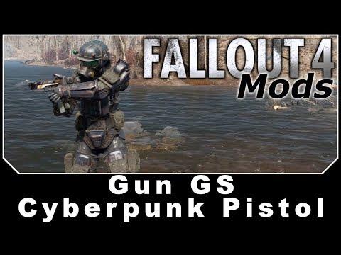 Fallout 4 Mods - Gun GS Cyberpunk Pistol thumbnail
