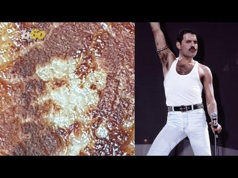 SHROOM - Freddie Mercury Appears On A Pork Chop