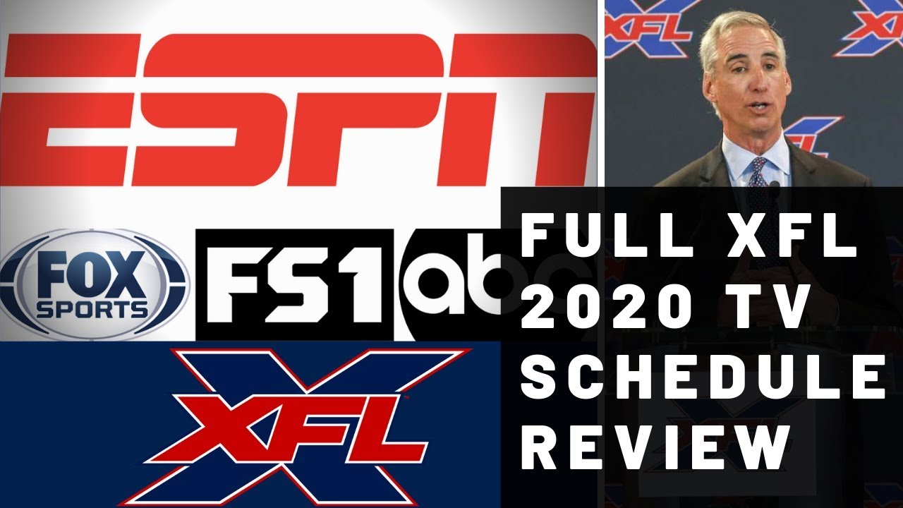 XFL 2020: schedule, TV channels, live stream: How to watch the ...