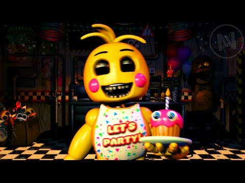 All Toy Chica Quotes / Voice Lines (Five Nights At Freddy's Ultimate Custom Night)