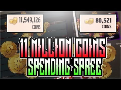 11 MILLION COIN SPENDING SPREE!!!! MY TEAMS INSANE!! | MADDEN 18 ULTIMATE TEAM SPENDING SPREE!!!