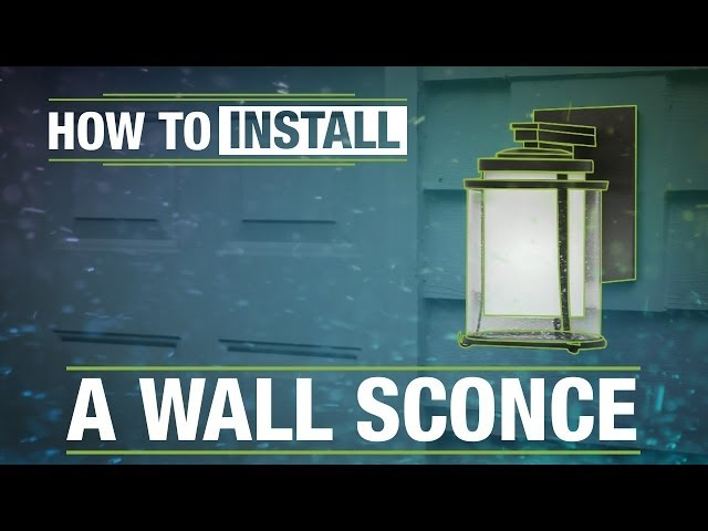 Replace Your Front Entry Wall Sconce for a Stylish Upgrade