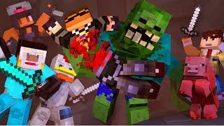 Minecraft | YOUTUBER MUTANT CREATURES HUNGER GAMES! (Modded Hunger Games)