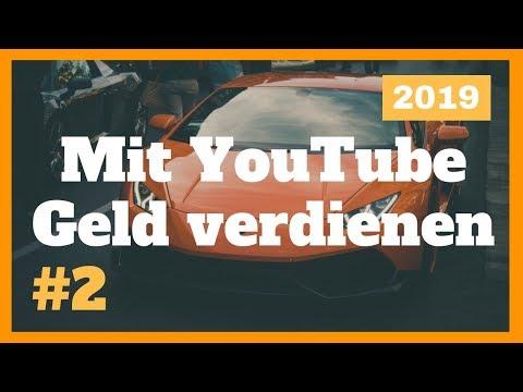 Mit YouTube Geld verdienen 2019 (Teil 2) - OHNE eigene Videos zu drehen