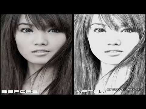 Adobe Photoshop CS5: Pencil Sketch Effect