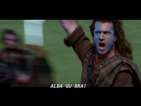 Mel Gibson yelling FREEDOM in