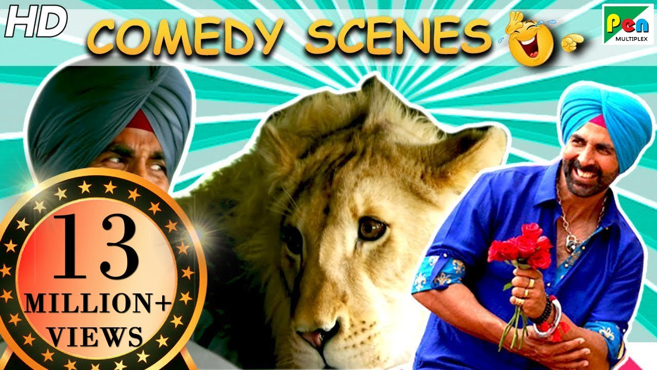 Download Singh Is Bliing Best Of Comedy Scenes | Akshay Kumar, Amy Jackson, Lara Dutta | HD