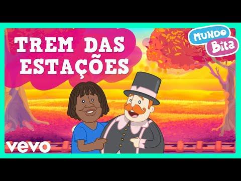 Mundo Bita - Trem das Estações ft. Milton Nascimento (Vídeo infantil)