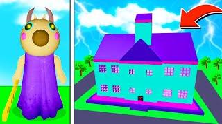 ROBLOX PIGGY TEACHER'S SCHOOL OF TERROR MAP! (Piggy Build Mode)