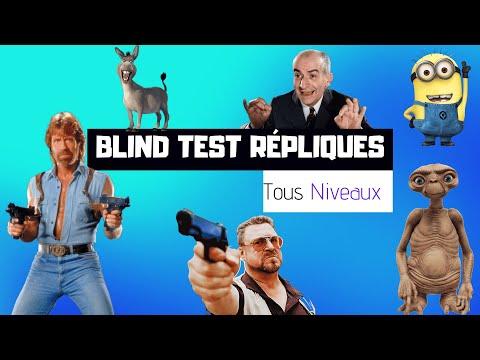 BLIND TEST RÉPLIQUES - TOUS NIVEAUX (40 EXTRAITS)
