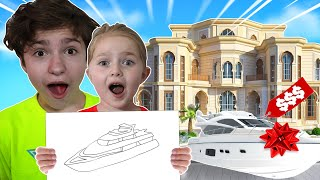 What You DRAW, I BUY it! Faze H1ghSky1 Family Challenge!