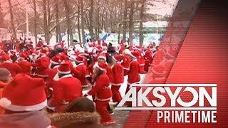 Mga residente sa iba't ibang bansa, nagbihis Santa Claus para magbigay ng tulong