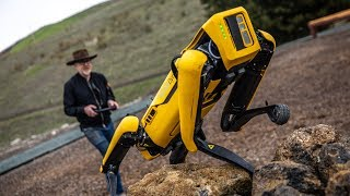 Adam Savage Tests Boston Dynamics