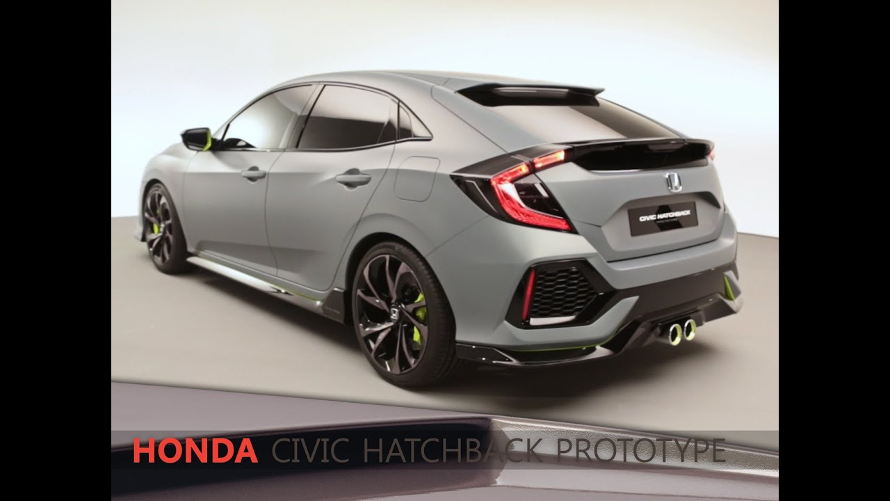 honda civic 5 portes concept en direct du salon de gen ve 2016 youtube. Black Bedroom Furniture Sets. Home Design Ideas