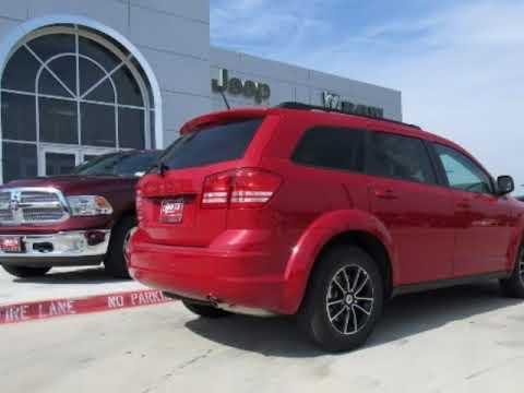 2018 Dodge Journey Se Red New Minivan For Duncan