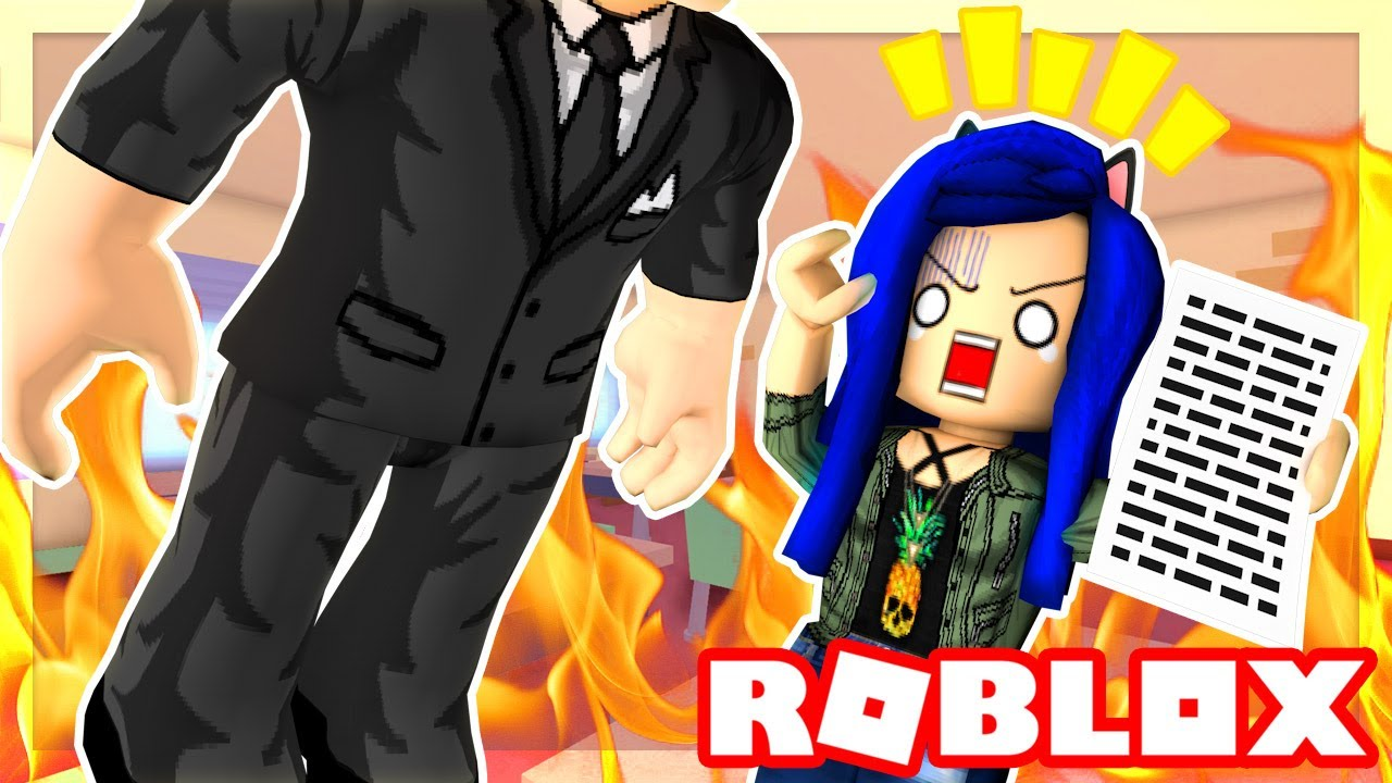 Roblox Family My First Job Interview Ever I M So Bad At This