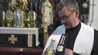 Zaproszenie na msze świętą w sobote i niedziele