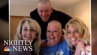 Utah Bus Driver Braids Hair Of 11-Year-Old Girl Who Lost Mother To Illness | NBC Nightly News
