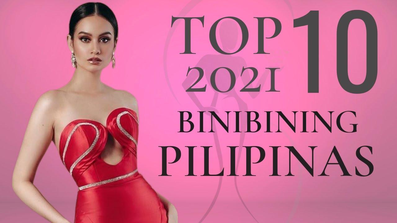 Watch: Binibining Pilipinas 2021   Top 10 Third Leaderboard!