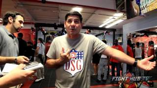 "Angel Garcia on Cotto vs Canelo ""I gotta go with Miguel Cotto!"""