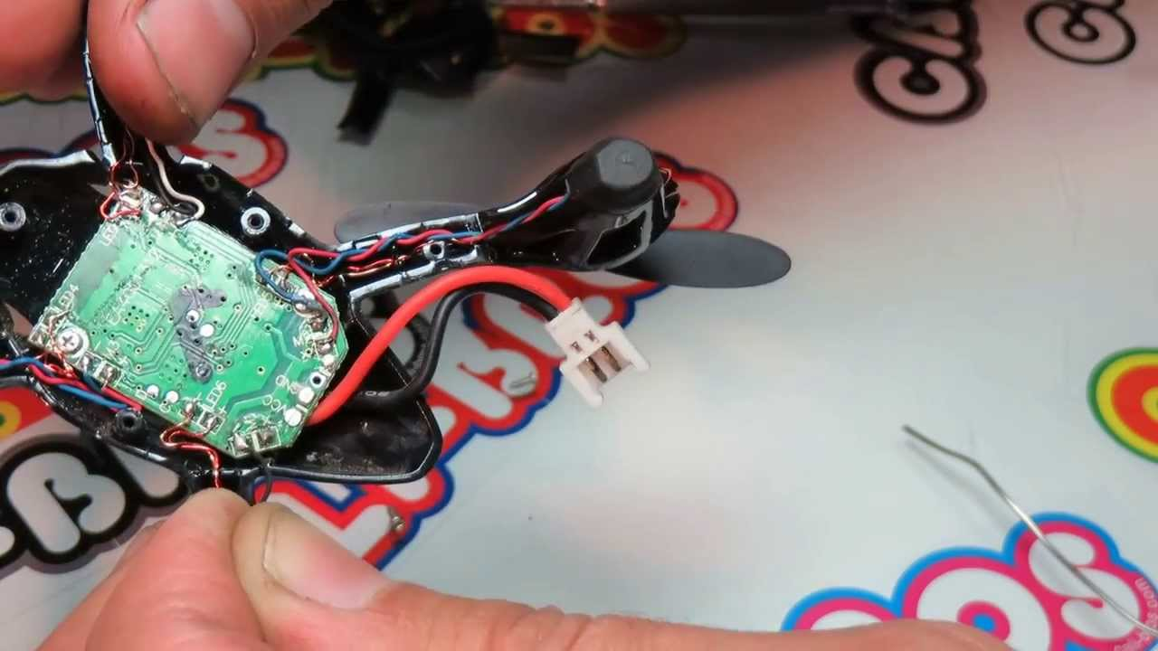 maxresdefault hubsan x4 h107l quadcopter motor swap ~ cali bros com youtube hubsan x4 wiring diagram at gsmx.co